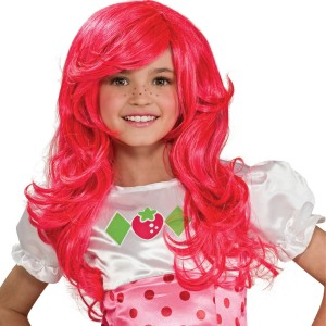 Strawberry Shortcake Wig - Red / One-Size