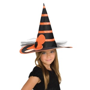 Child Orange Witch Hat - Orange / One-Size