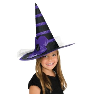 Child Purple Witch Hat - Purple / One-Size
