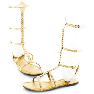 Cairo Adult Shoes - Gold / 8
