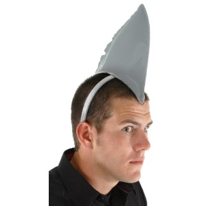 Shark Fin Headband - Gray / One-Size