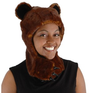 Bear Hug Hat - Brown / One-Size