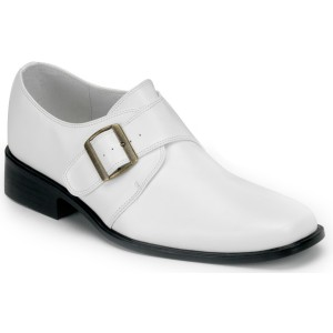 Loafer White Adult Shoes - White / XL (14 - 15)