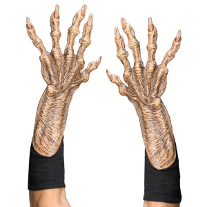 Adult Monster Hands - Tan / One-Size