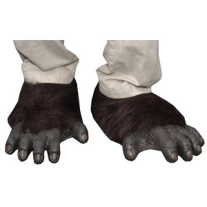 Adult Gorilla Feet - Black / One-Size