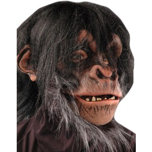 Chimp Adult Mask - Black / One-Size