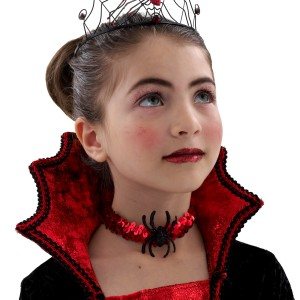Dracula Child Choker - Red / One Size