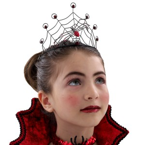 Red Spider Child Crown - Red / One Size