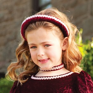 Renaissance Princess Child Headband - Red / One Size