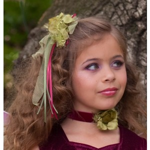 Sugar Plum Fairy Child Choker - Green / One Size