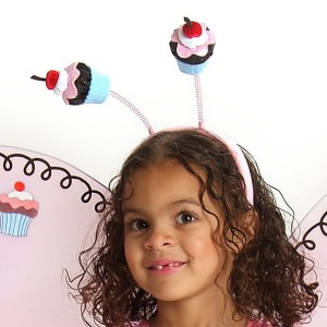 Cupcake Fairy Child Headband - Pink / One Size