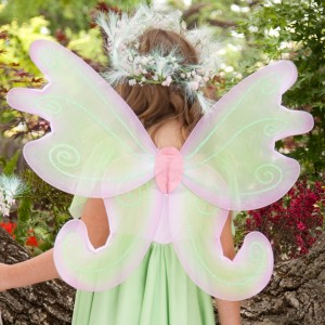 Spring Fairy Child Wings - Green / One Size