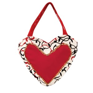 Queen of Hearts Purse - Red / One Size