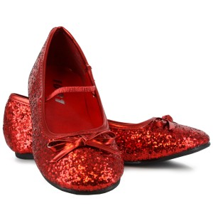 Sparkle Ballerina Red Child Shoes - Red / X-Small (9/10)