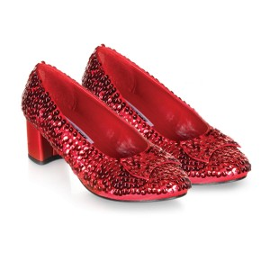 Judy Red Sequin Child Shoes - Red / X-Small (9/10)