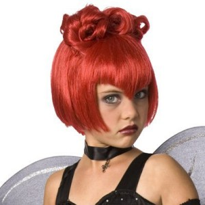Red Wig Child - Red / One Size