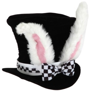 White Rabbit Child Hat - White / One-Size