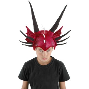 Dragon Hat - Red/Black / One-Size