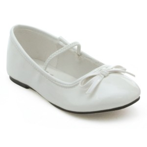 Ballet White Child Shoes - White / Large (2/3)