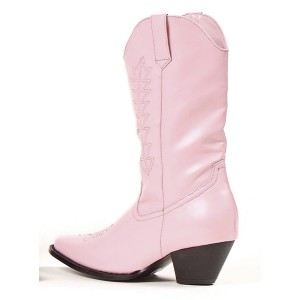 Rodeo Pink Child Boots - Pink / Small (11/12)