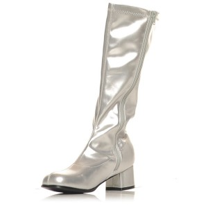 Dora Silver Child Boots - Silver / Large (2/3)