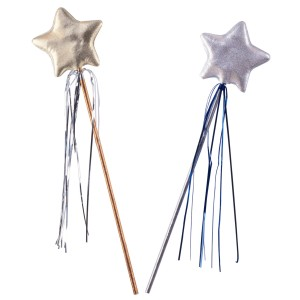 Princess Star Wand - Silver