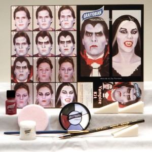 Vampire Makeup Kit - White / One-Size