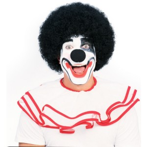 Afro Black Wig - Black / One-Size