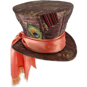 Alice In Wonderland Movie - Mad Hatter Hat Adult - Brown / One-Size