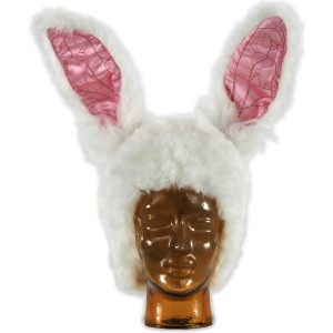 Alice in Wonderland Movie - White Rabbit Hat Adult - White / One-Size