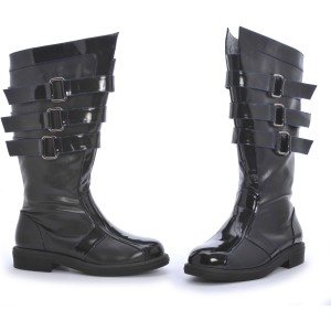 Dark Lord Adult Boots - Black / Small (8/9)
