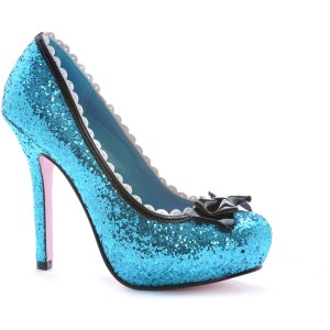 Princess Blue Adult Shoes - Blue / Women's 8