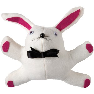 Stuffed White Bunny Doll - White / One-Size