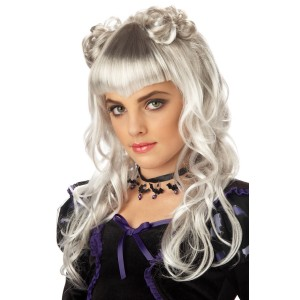 Moonlight Wig - White / One-Size