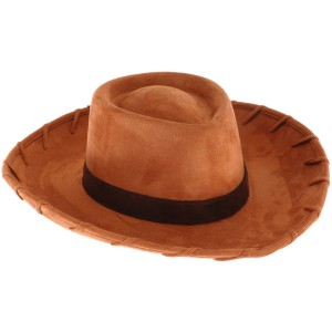 Disney Toy Story - Deluxe Woody Hat Adult - Brown / One-Size