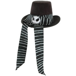 The Nightmare Before Christmas - Victorian Jack Mini Top Hat Adult