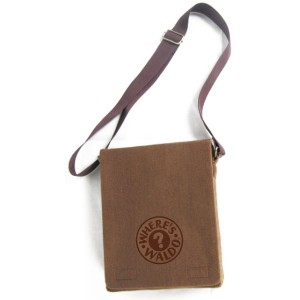 Where's Waldo - Waldo Messenger Bag - Brown / One-Size