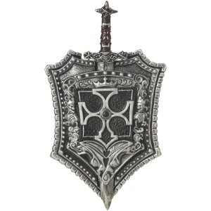 Crusader Sword And Shield - Gray / One-Size