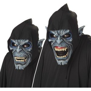 Night Stalker Ani-Motion Adult Mask - Black / One-Size