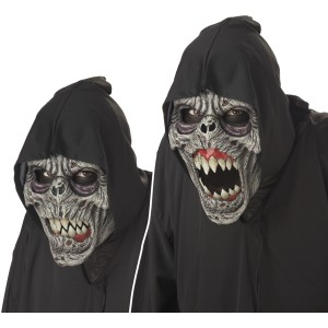 Night Fiend Ani-Motion Adult Mask - Black / One-Size
