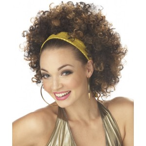 Fab Curls Brown/Light Brown - Brown / One-Size