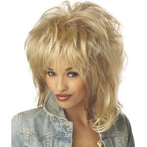 Rockin' Soul Adult Wig - Yellow / One-Size