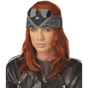 Hollywood Rocker Adult Wig
