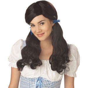 Farmgirl Brown Adult Wig