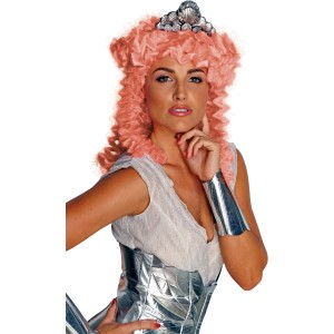 Clash of the Titans - Aphrodite Adult Wig & Headpiece - White / One-Size