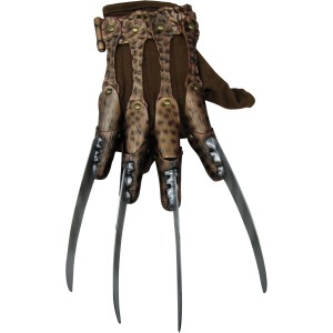 A Nightmare On Elm Street - Deluxe Freddy Glove Adult - Brown / One-Size