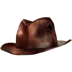 A Nightmare On Elm Street - Deluxe Freddy Replica Adult Hat - Brown / One-Size