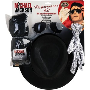 Michael Jackson Performance Accessory Kit Adult - Black / One-Size