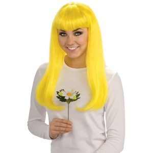 The Smurfs - Economy Smurfette Adult Wig - Yellow / One-Size