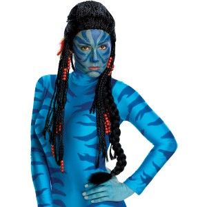 Avatar Movie Neytiri Deluxe Adult Wig - Black / One-Size